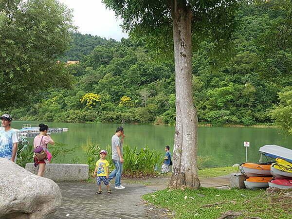 梅花湖風景區