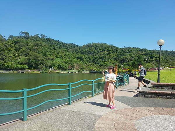 宜蘭寵物友善景點-龍潭湖風景區