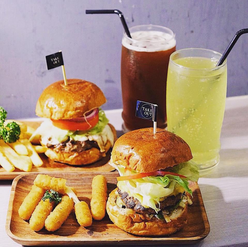 台北中正區寵物友善餐廳-TakeOut Burger&Cafe-忠孝新生店