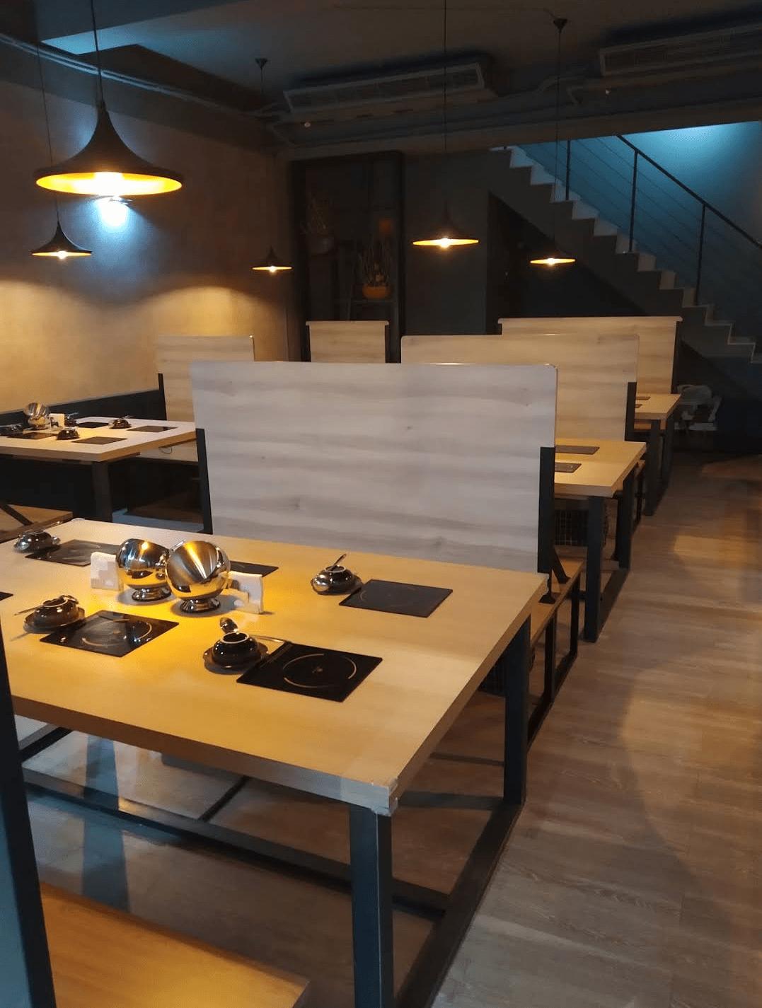 桃園中壢寵物友善餐廳-船饕海鮮精緻鍋物