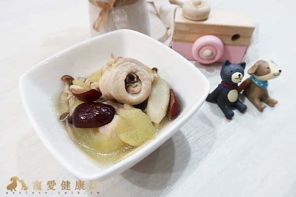 寵物食譜-冬至毛孩寵膳【蘋果牛蒡補氣雞湯】-陳蓁
